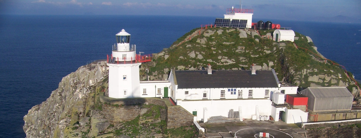 Lighthouses In Ireland Map.Bull Rock